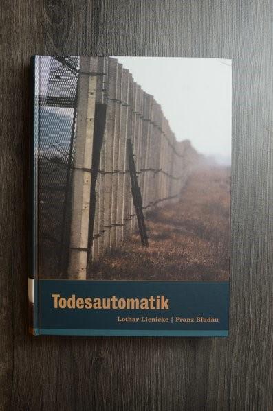 Todesautomatik | Lienicke / Bludau, 2001 | Buch (Cover)