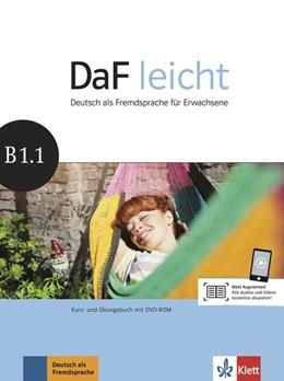 Abbildung von DaF leicht B1.1. Kurs- und Übungsbuch + DVD-ROM | 1. Auflage | 2016 | beck-shop.de