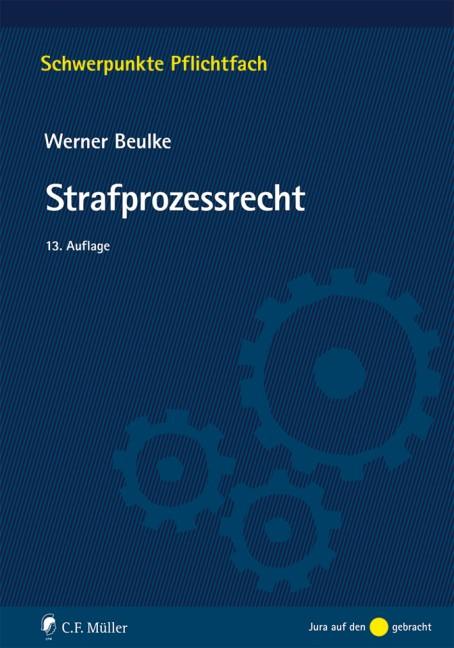 Strafprozessrecht   Beulke   13., neu bearbeitete Auflage, 2016   Buch (Cover)