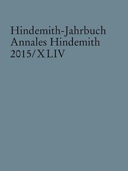 Abbildung von Hindemith-Jahrbuch | 1. Auflage | 2016 | beck-shop.de