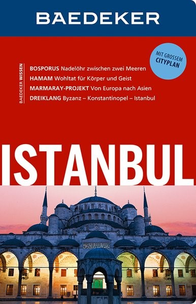 Baedeker Reiseführer Istanbul | Bourmer | 14. Auflage, 2016 | Buch (Cover)