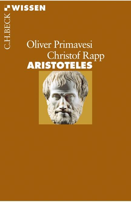 Cover: Christof Rapp|Oliver Primavesi, Aristoteles
