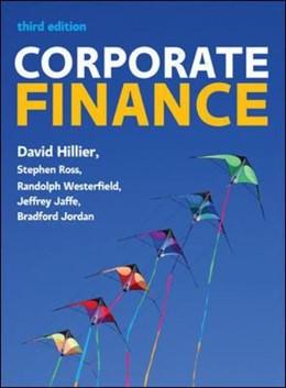 Abbildung von Hillier   Corporate Finance: European Edition   2016   European Edition