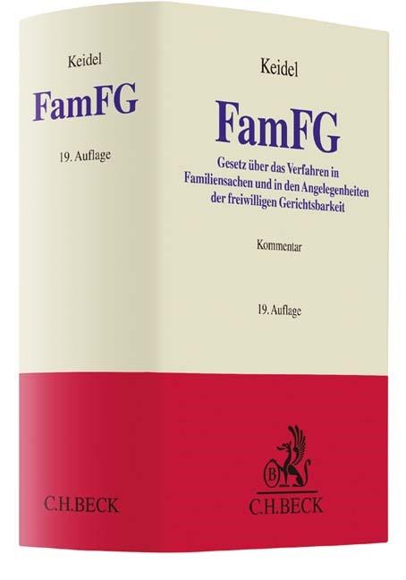 FamFG | Keidel | 19., überarbeitete Auflage, 2016 | Buch (Cover)