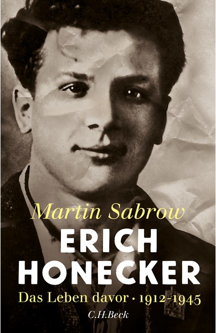 Cover: Martin Sabrow, Erich Honecker