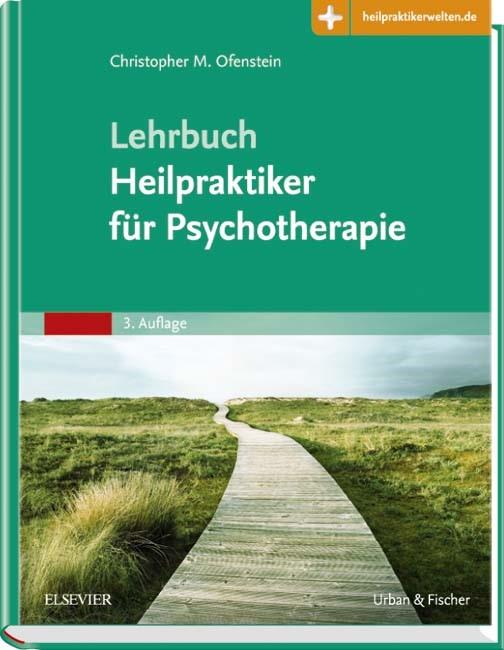 Lehrbuch Heilpraktiker für Psychotherapie   Ofenstein   3. Auflage, 2016 (Cover)