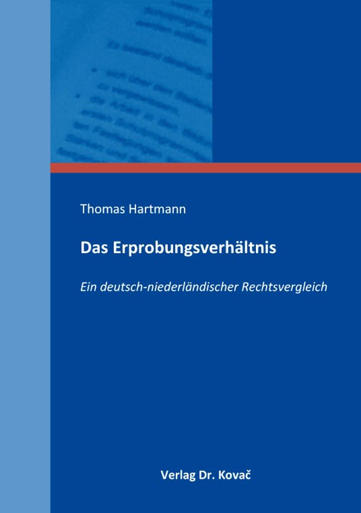 Abbildung von Hartmann   Das Erprobungsverhältnis   2016