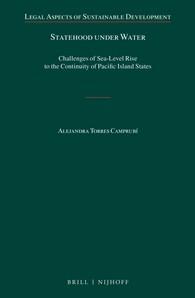 Abbildung von Torres Camprubí   Statehood under Water   xxviii, 312 pp.   2016