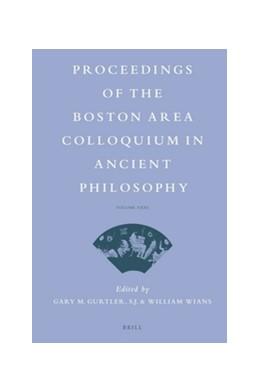Abbildung von Proceedings of the Boston Area Colloquium in Ancient Philosophy | 2016 | Volume XXXI (2015) | 31
