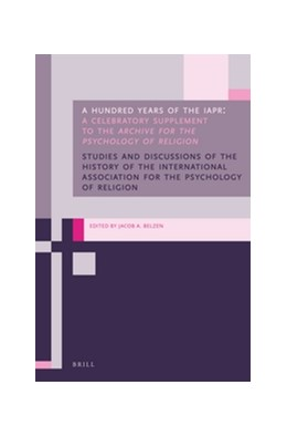 Abbildung von Belzen | A Hundred Years of the IAPR | 2016 | A Celebratory Supplement to th...