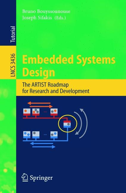 Embedded Systems Design | Bouyssounouse / Sifakis, 2005 | Buch (Cover)