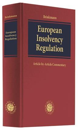 Abbildung von Brinkmann   European Insolvency Regulation   2019   Article-by-Article Commentary