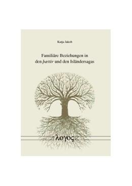 Abbildung von Jakob   Familiäre Beziehungen in den þættir und den Isländersagas   1. Auflage   2016   beck-shop.de