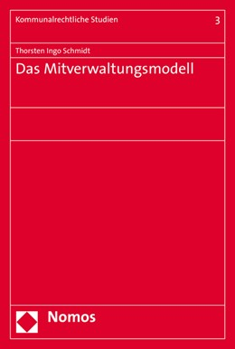 Abbildung von Schmidt | Das Mitverwaltungsmodell | 2016 | 3