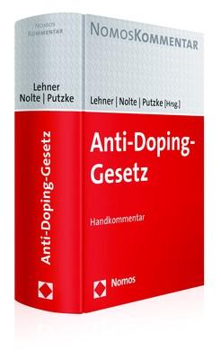 Anti-Doping-Gesetz | Lehner / Nolte / Putzke (Hrsg.), 2017 | Buch (Cover)