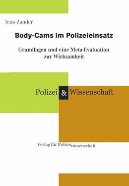 Abbildung von Zander   Body-Cams im Polizeieinsatz   1. Auflage   2016