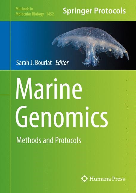 Marine Genomics | Bourlat | 1st ed. 2016, 2016 | Buch (Cover)