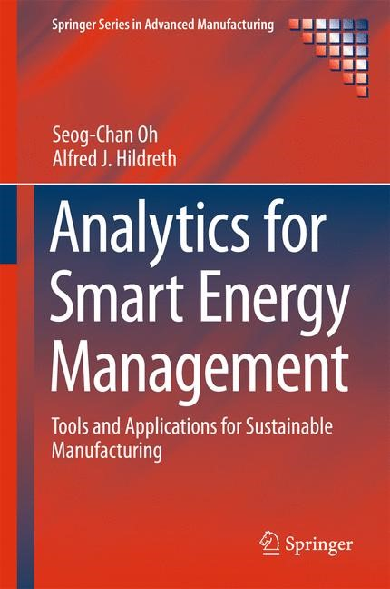 Analytics for Smart Energy Management | Oh / Hildreth | 1st ed. 2016, 2016 | Buch (Cover)
