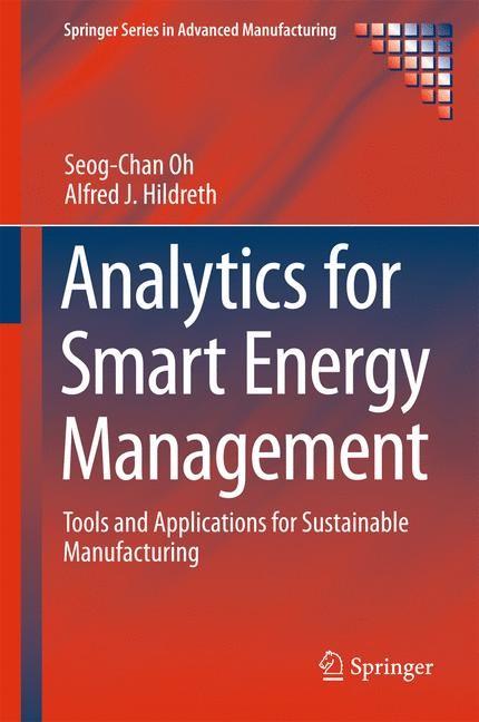 Abbildung von Oh / Hildreth | Analytics for Smart Energy Management | 1st ed. 2016 | 2016