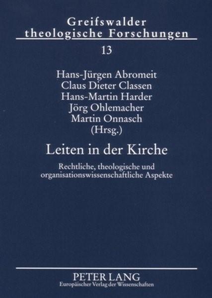Abbildung von Abromeit / Classen / Harder / Ohlemacher / Onnasch | Leiten in der Kirche | 2006