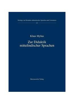 Abbildung von Mylius   Zur Didaktik mittelindischer Sprachen   2014