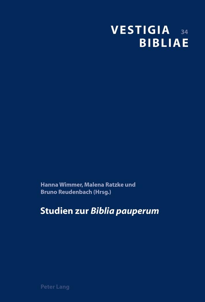 Studien zur Biblia pauperum | Wimmer / Ratzke / Reudenbach, 2016 | Buch (Cover)