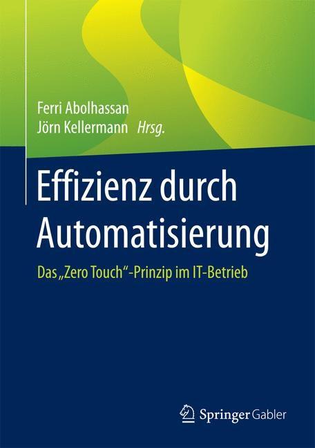 Effizienz durch Automatisierung | Abolhassan / Kellermann, 2016 | Buch (Cover)