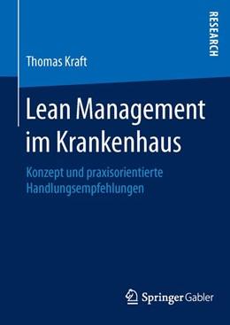 Abbildung von Kraft | Lean Management im Krankenhaus | 2016 | Konzept und praxisorientierte ...