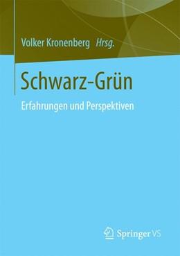 Abbildung von Kronenberg | Schwarz-Grün | 1. Auflage | 2016 | beck-shop.de