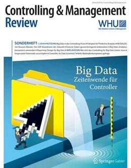 Abbildung von Schäffer / Weber   Controlling & Management Review Sonderheft 1-2016   2016   Big Data - Zeitenwende für Con...