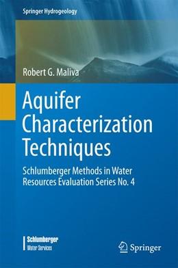 Abbildung von Maliva | Aquifer Characterization Techniques | 1. Auflage | 2016 | beck-shop.de