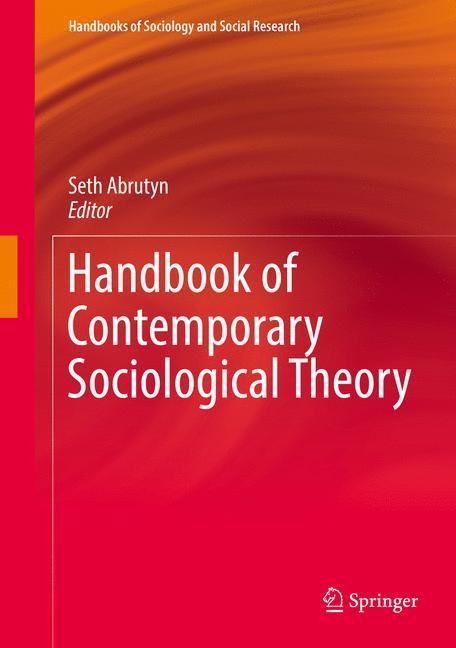 Abbildung von Abrutyn | Handbook of Contemporary Sociological Theory | 1st ed. 2016 | 2016