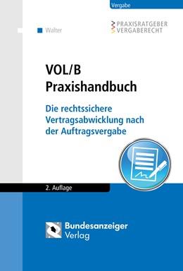 Abbildung von Walter | VOL/B Praxishandbuch | 2. Auflage | 2018 | beck-shop.de