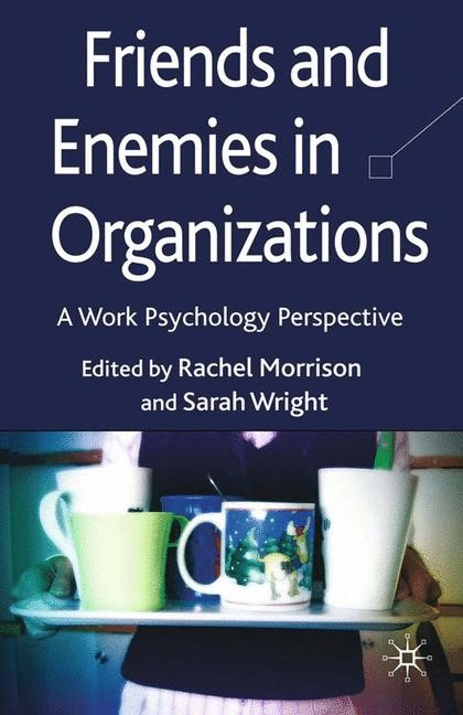 Friends and Enemies in Organizations | Morrison / Wright | 1st ed. 2009, 2009 | Buch (Cover)
