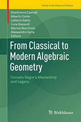 Abbildung von Conte / Casnati | From Classical to Modern Algebraic Geometry | 1. Auflage | 2017 | beck-shop.de