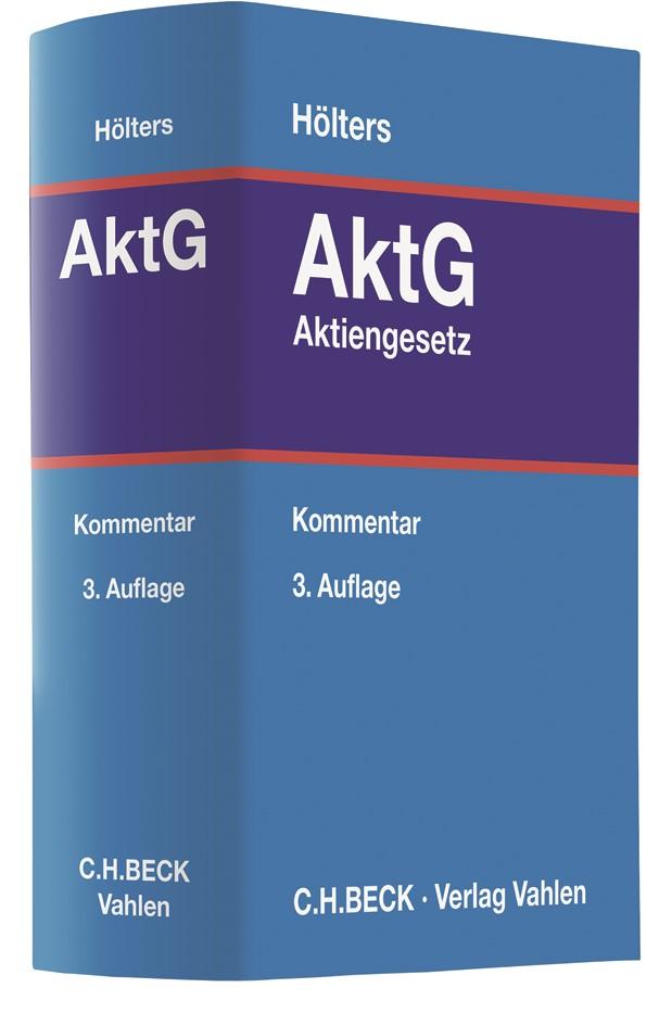 Aktiengesetz: AktG | Hölters | 3. Auflage, 2017 | Buch (Cover)