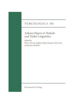 Abbildung von Atas / Rehbein / Sagin Simsek / Zeyrek   Ankara Papers in Turkish and Turkic Linguistics   2015