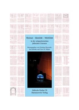 Abbildung von Olszynski / Schröder / Wilpert | Heimat - Identität - Mobilität in der zeitgenössischen jüdischen Literatur | 2015