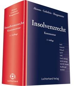 Abbildung von Ahrens / Gehrlein | Insolvenzrecht | 3. Auflage | 2017 | beck-shop.de