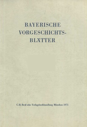 Bayerische Vorgeschichtsblätter 2016, 2016 | Buch (Cover)