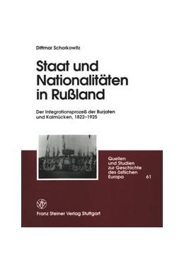 Abbildung von Schorkowitz   Staat und Nationalitäten in Rußland   2001   Der Integrationsprozeß der Bur...   61