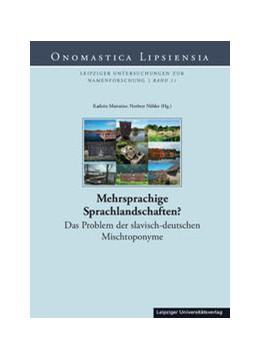 Abbildung von Marterior / Nübler   Mehrsprachige Sprachlandschaften?   2016   Das Problem der slavisch-deuts...   11