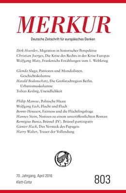 Abbildung von Demand   MERKUR Deutsche Zeitschrift für europäisches Denken - 2016-04   1. Auflage   2016   beck-shop.de