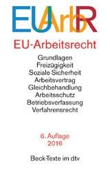 EU-Arbeitsrecht: EUArbR | 6. Auflage, 2016 | Buch (Cover)