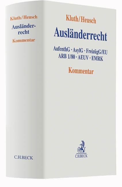 Ausländerrecht | Kluth / Heusch, 2016 | Buch (Cover)