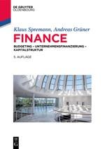 Finance | Spremann / Grüner | 5th extensively revised edition, 2018 | Buch (Cover)