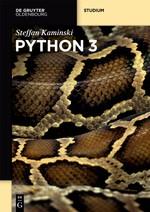 Python 3 | Kaminski, 2016 | Buch (Cover)