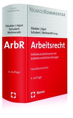 Arbeitsrecht | Däubler / Hjort / Schubert / Wolmerath (Hrsg.) | 4. Auflage, 2017 | Buch (Cover)
