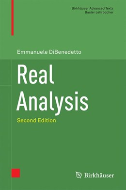 Abbildung von DiBenedetto | Real Analysis | 2nd ed. 2016 | 2016