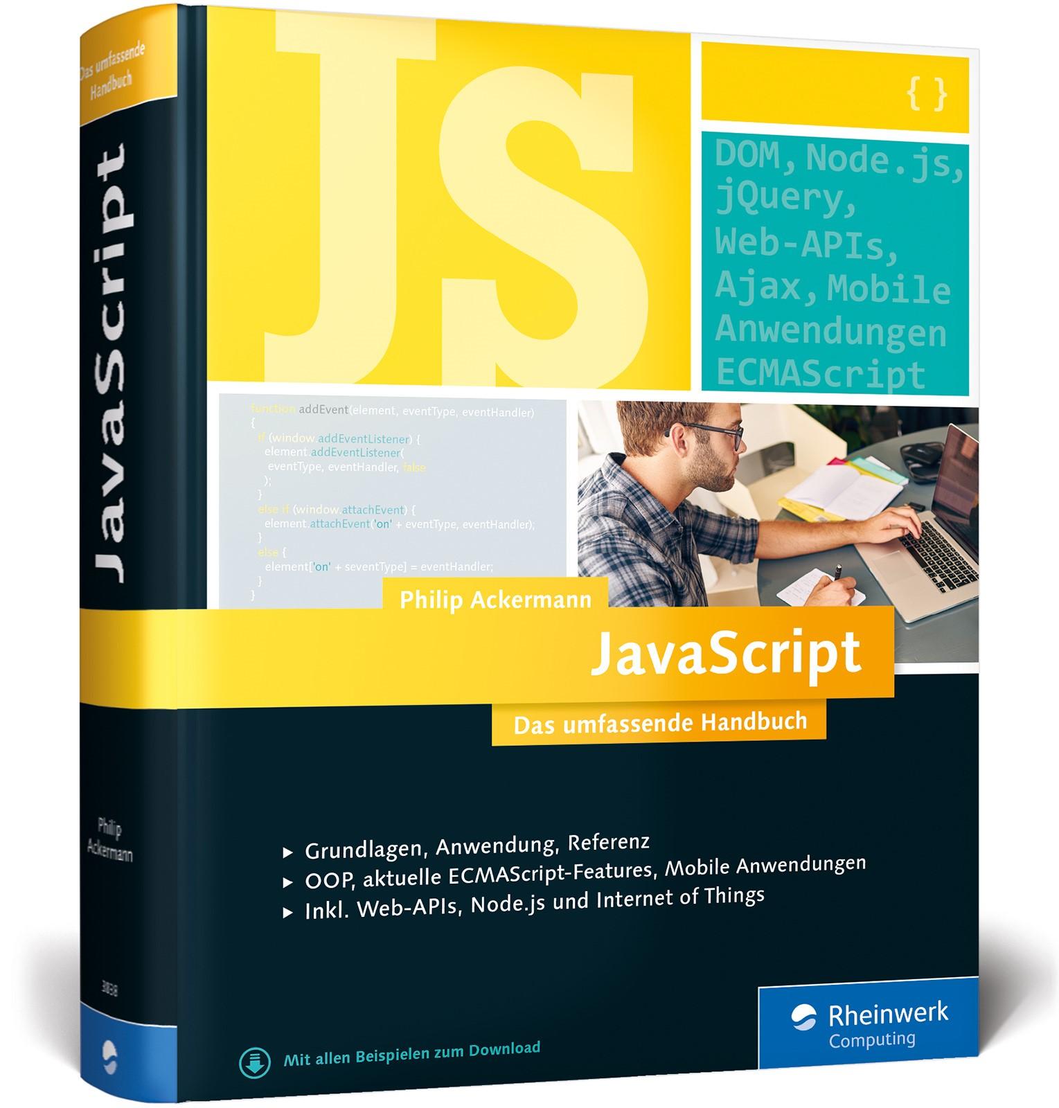 JavaScript | Ackermann, 2016 | Buch (Cover)